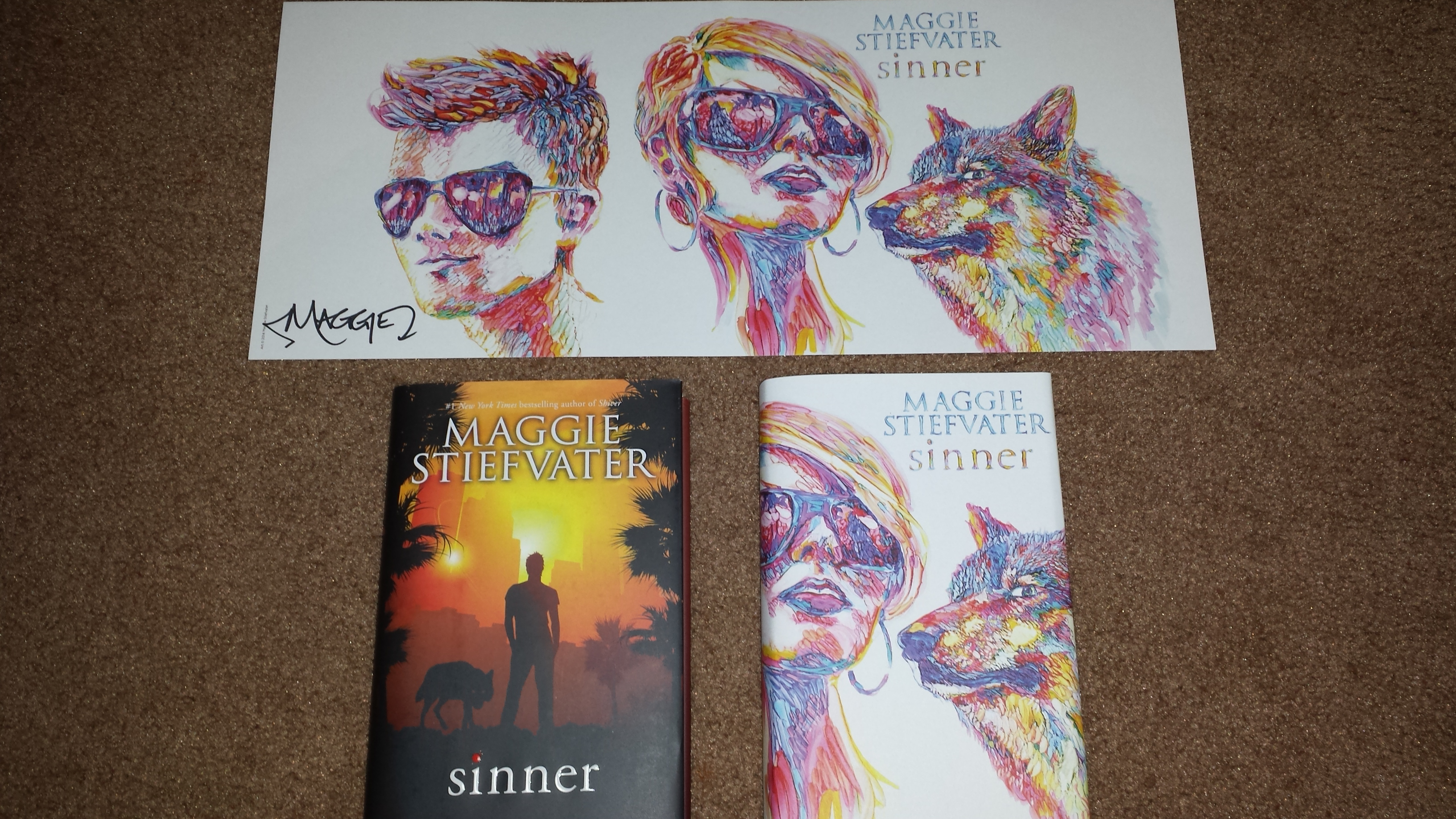 Sinner By Maggie Stiefvater Giveaway! (Closed)